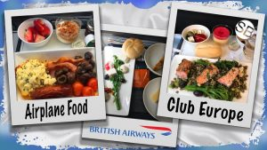 Airplane Food Club Europe British Airways 12