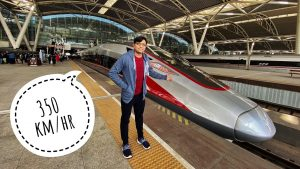 China Bullet Train First Class Vs Business Class