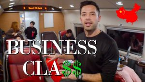 Chinese Bullet Train BUSINESS CLASS amp 1ST CLASS Review
