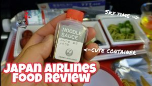 Japan Airlines Food Review