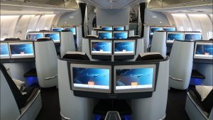 KLM A330 Business Class Amsterdam to Rwanda SPECTACULAR views of