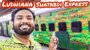 Ludhiana Shatabdi Executive Class amp Food Full Journey with Travelling