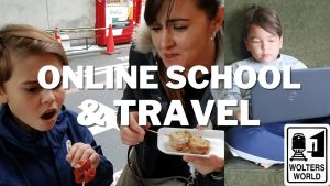 Online School amp Travel Advice on Traveling While Your