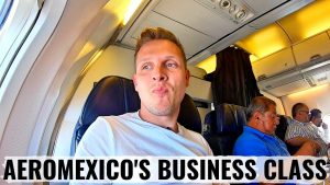 Review AEROMEXICO 737 BUSINESS CLASS INTENSE TAKE OFF