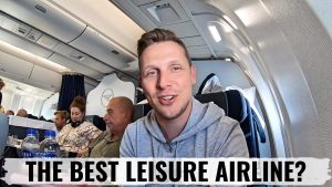 Review CONDOR AIRLINES 767 BUSINESS CLASS BEST LEISURE AIRLINE