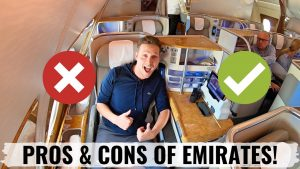 Review EMIRATES A380 BUSINESS CLASS THE PROS AND CONS