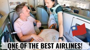 Review EVA AIR 777 BUSINESS CLASS A WONDERFUL AIRLINE