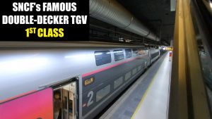 SNCF TGV 1st Class Review France39s Famous Double Decker Train
