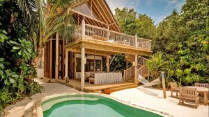 Soneva Fushi Maldives two bedroom villa with private pool full