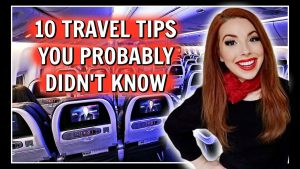 TOP 10 Travel Tips amp Tricks From A Flight Attendant
