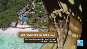 World Luxury Hotel Awards 2020 - Tulia Zanzibar Resort